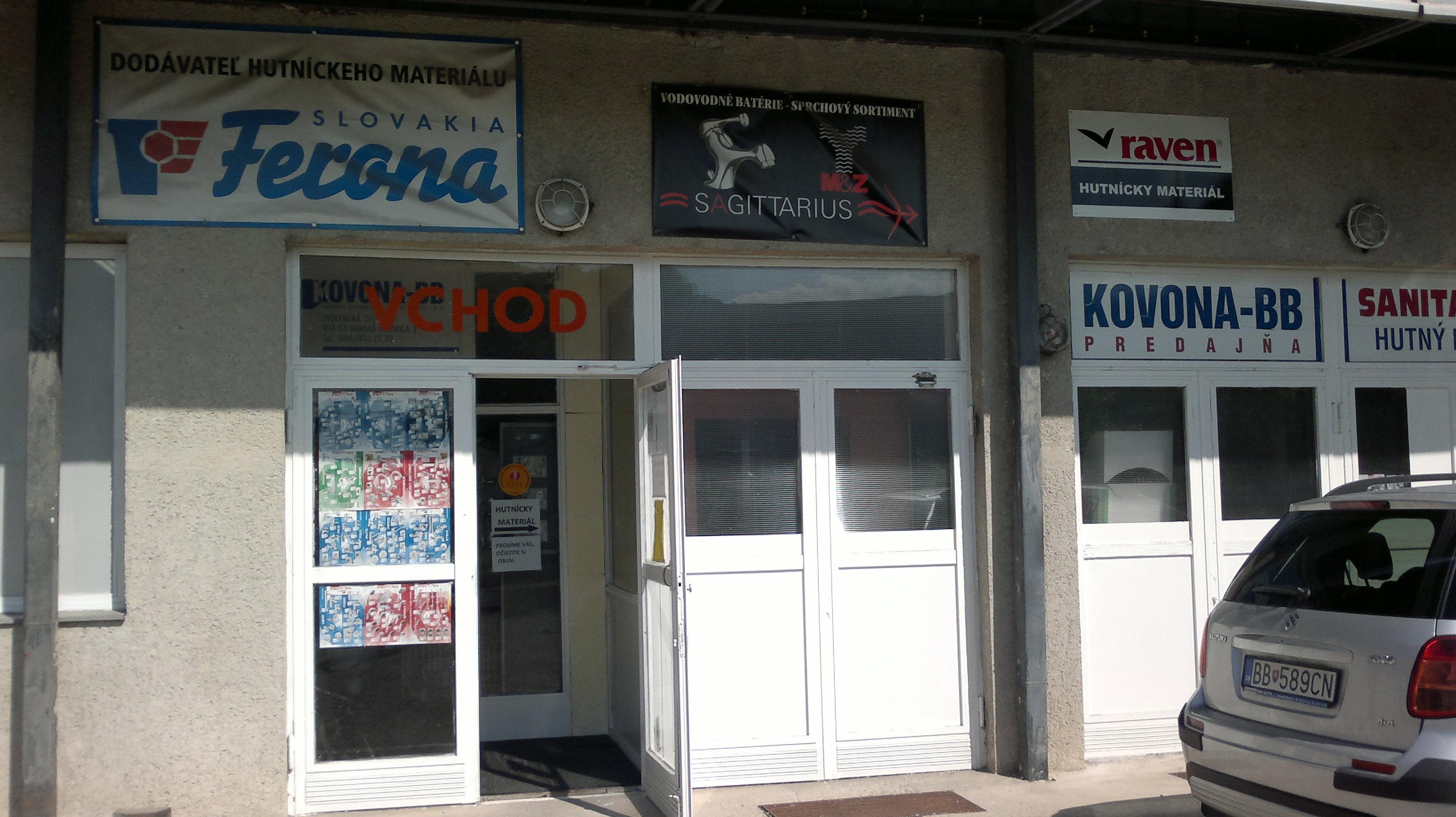 057c873bbd22 KOVONA BB Banská Bystrica - široká po - Katalóg firiem