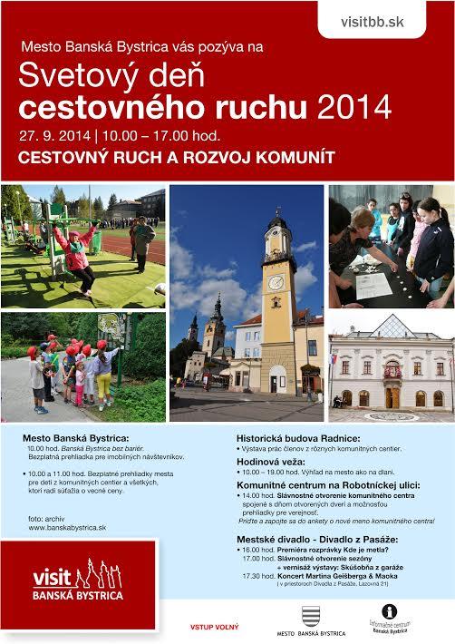 209306f70e855 Svetový deň cestovného ruchu v Banske - Katalóg firiem | moja Bystrica