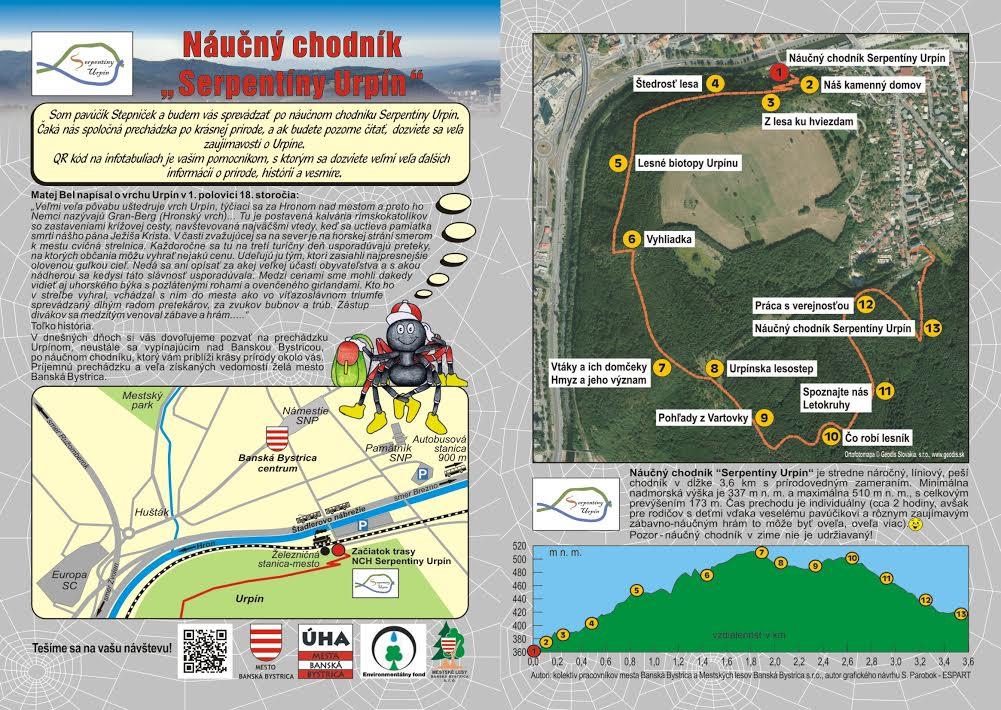 feadad89b Otvorenie Náučného chodníka Serpentín - Katalóg firiem | moja Bystrica