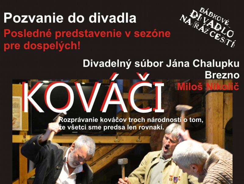 Posledné divadelné predstavenia BDNR - Katalóg firiem  93c3c5c74c5