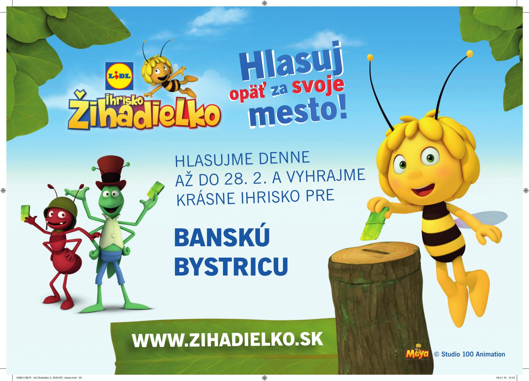 c1ce615d3 Vyhrajme pre Bystricu ďalšie Žihadielko! - Kam v meste | moja Bystrica