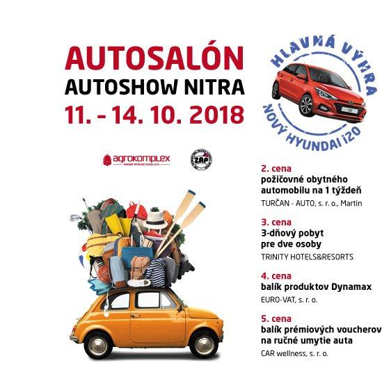2d3675e552 AUTOSALÓN AUTOSHOW NITRA 2018 - Katalóg firiem