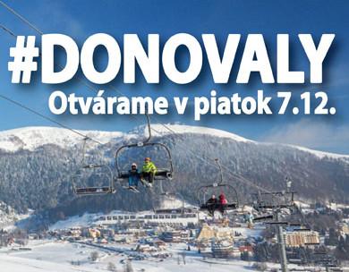 a3b97713847ba Lyžovačka na Donovaloch už od piatka, 7. - Kam v meste | moja Bystrica