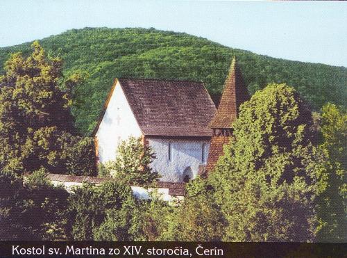 Kostol sv. Martina v obci Čerín - Katalóg firiem  93e9d34df4b
