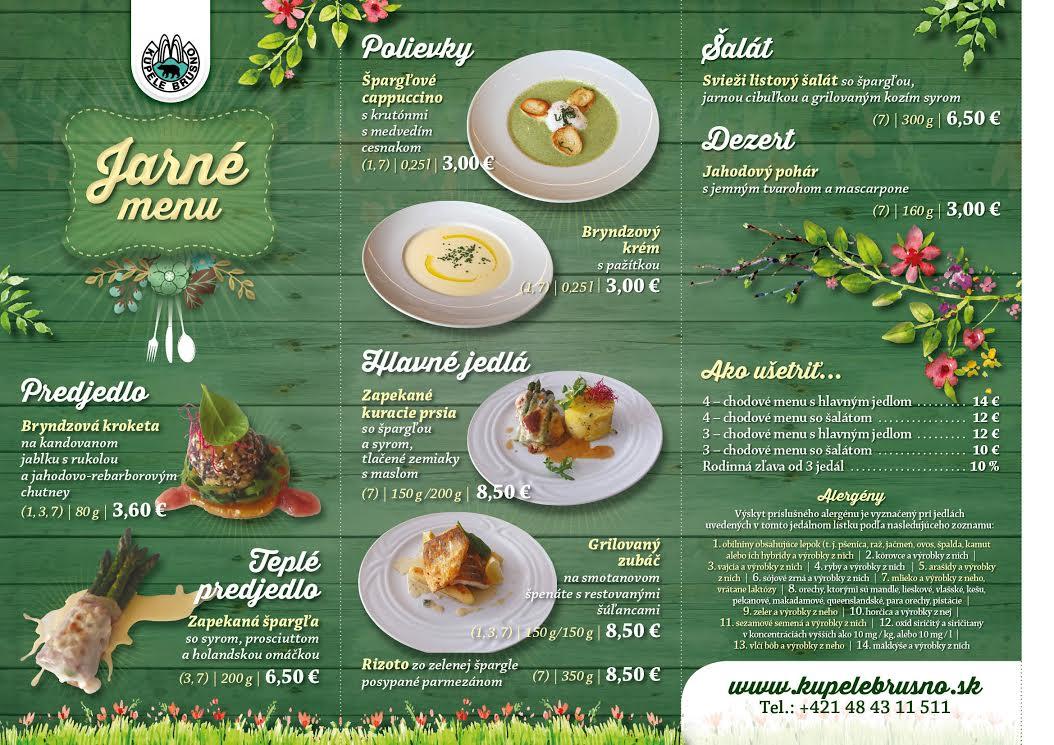 63e3db507852 Prezrite si ponuke nášho jarného menu už od 3.00€