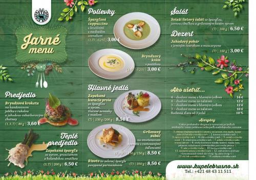 93349ef38 Prezrite si ponuke nášho jarného menu už od 3.00€